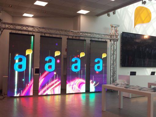 Inauguración Antel Montevideo Shopping