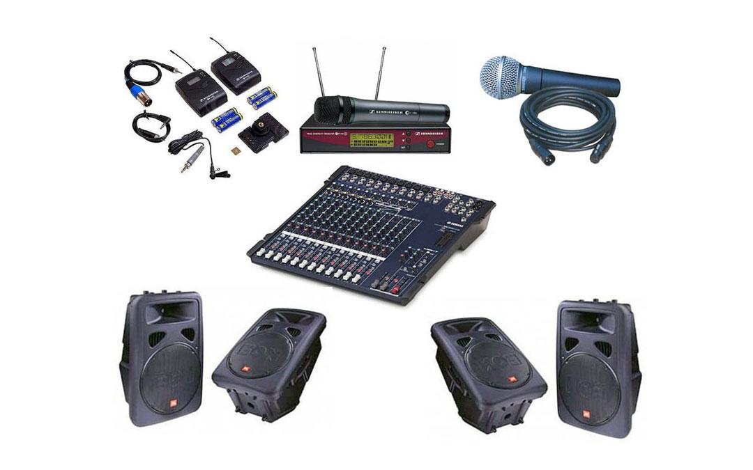 Audio para conferencias
